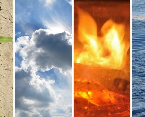 Erde, Feuer, Wasser, Luft